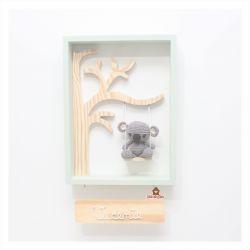 Coala - Quadro com Árvore  - Porta Maternidade
